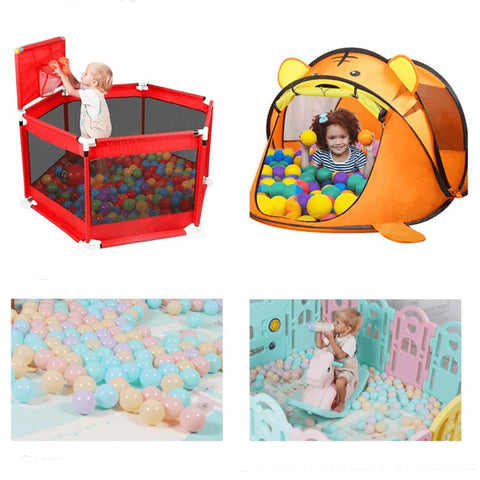 Mixed Color Ball Pit Balls - 200 Pieces
