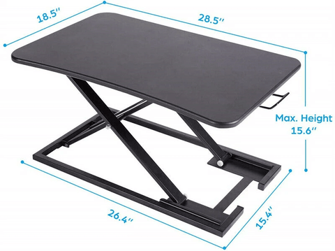 Premium Adjustable Standing Desk Converter