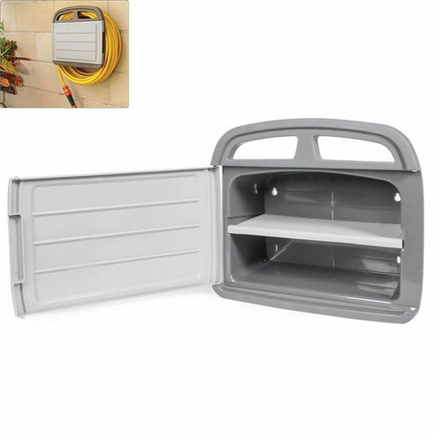Water Hose Reel And Storage Cabinet Box