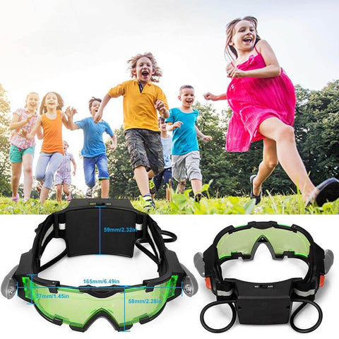 Adjustable Spy Kids Night Vision Goggles with Flip-Out Lights