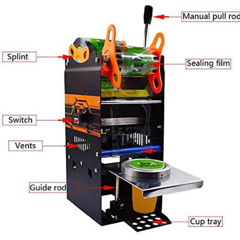 Commercial Manual Cup Sealing Machine