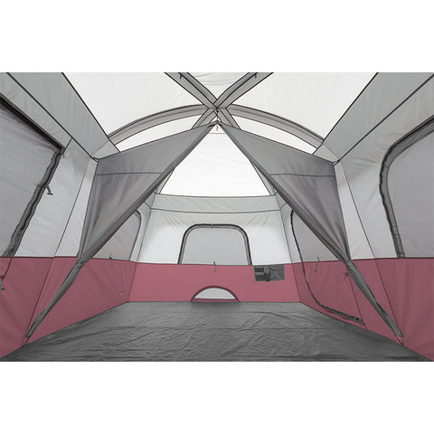 14x10ft 10 Person Cabin Tent with 2 Rooms