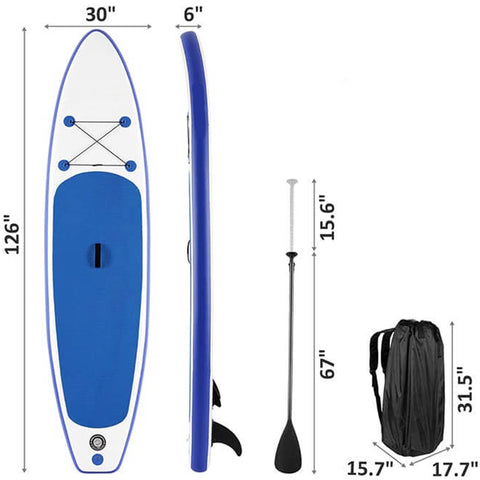 Portable Surfboard Inflatable Stand Up Paddleboard
