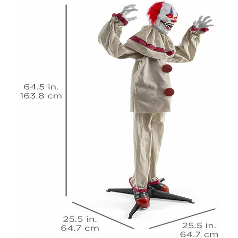 Halloween Prop Scary Harry The Motion Clown