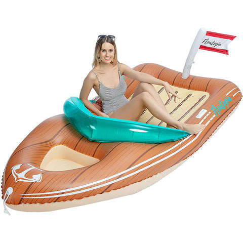 Giant Inflatable Boat Pool Float