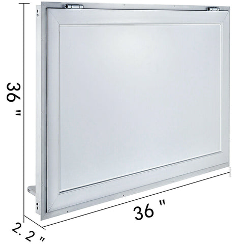 36x24in Concession Stand Serving Window