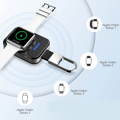 Compact Wireless Charger For Apple Watch