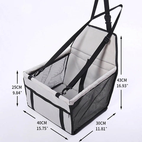 Foldable Travel Dog Car Seat Cover