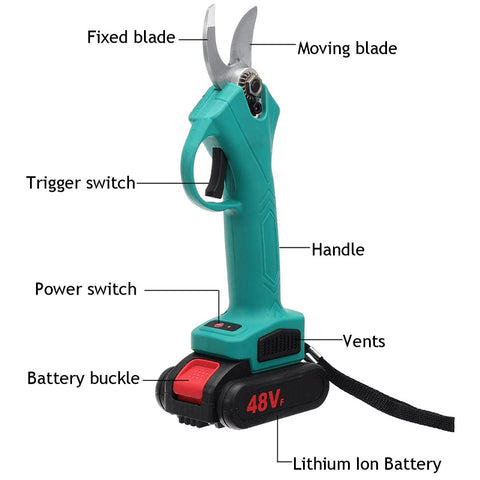 Cordless Electric Pruner Branches Cutter