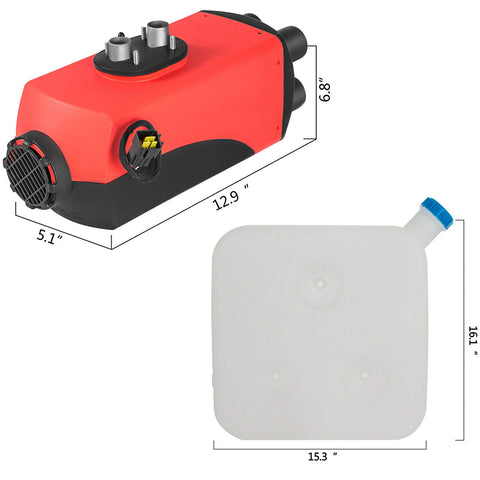 12V Air Diesel Heater Rotary Switch