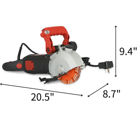 Electric Wall Chaser Groove Steel Concrete