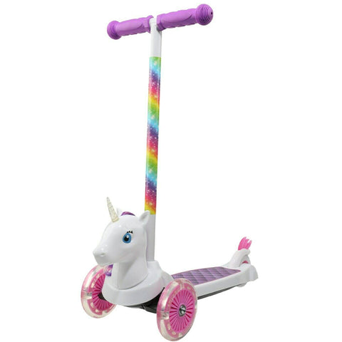 Unicorn 3D Scooter with 3 Wheels