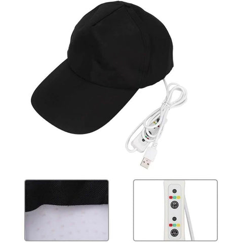 Adjustable Hair Growth Hat Cap Oil Therapy