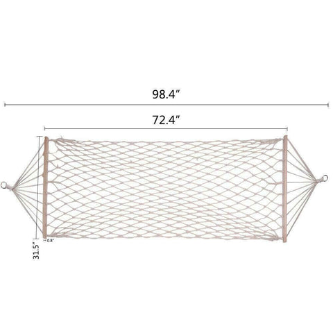 Cotton Rope Hammock Hanging Bed