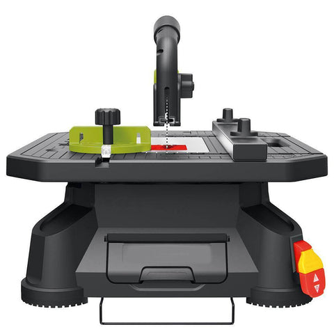 Portable Tabletop Saw with Blades & Accessories