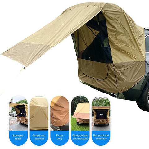 Portable Hatchback Tent for Camping