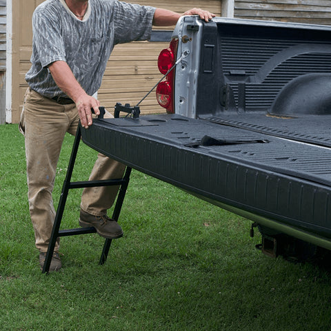 Folding Truck Tailgate Ladder Bed Step