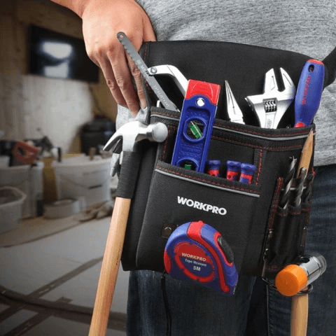 Adjustable Tool Belt Nail Pouch