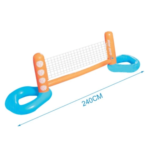 Floating Above Ground Swimming Pool Volleyball Net