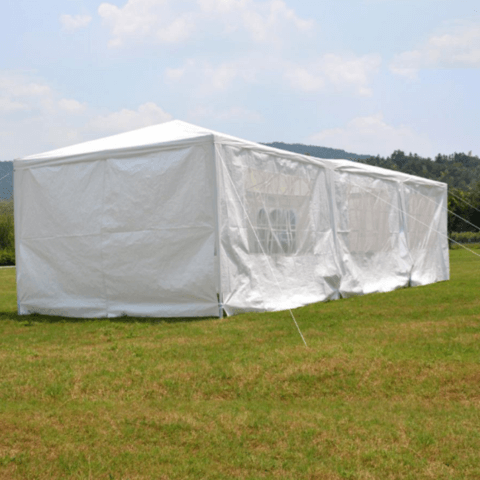 10' x 30' Portable White Party Canopy Event Tent