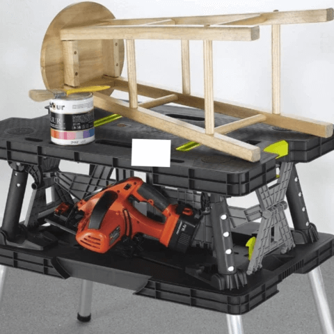 Portable Folding Miter Saw Table Station Stand