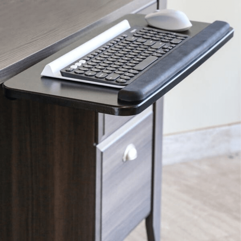 Premium Adjustable Under Desk Clamp On Keyboard Drawer Tray