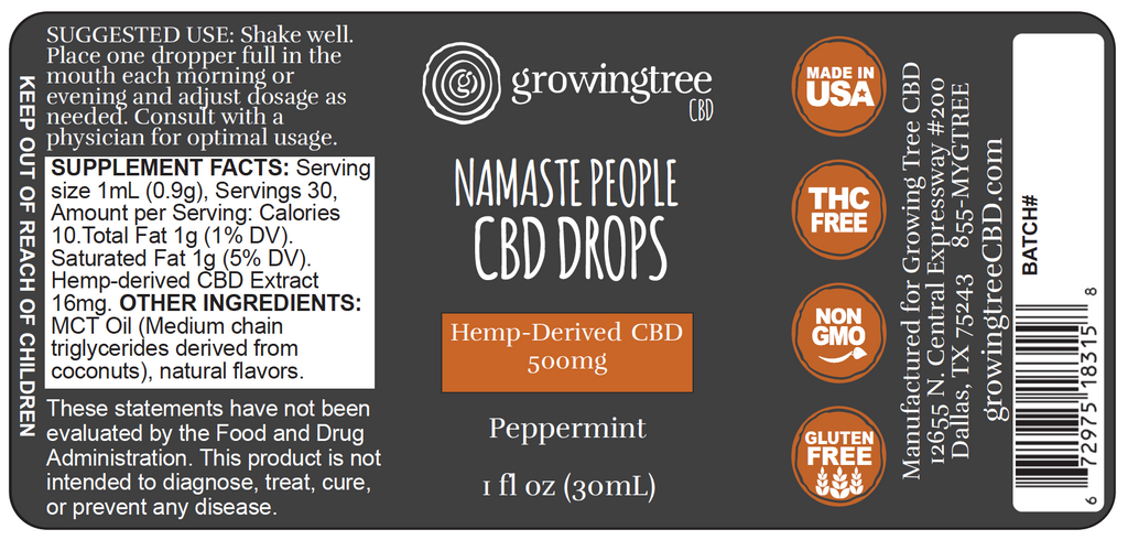 Namaste People CBD Drops