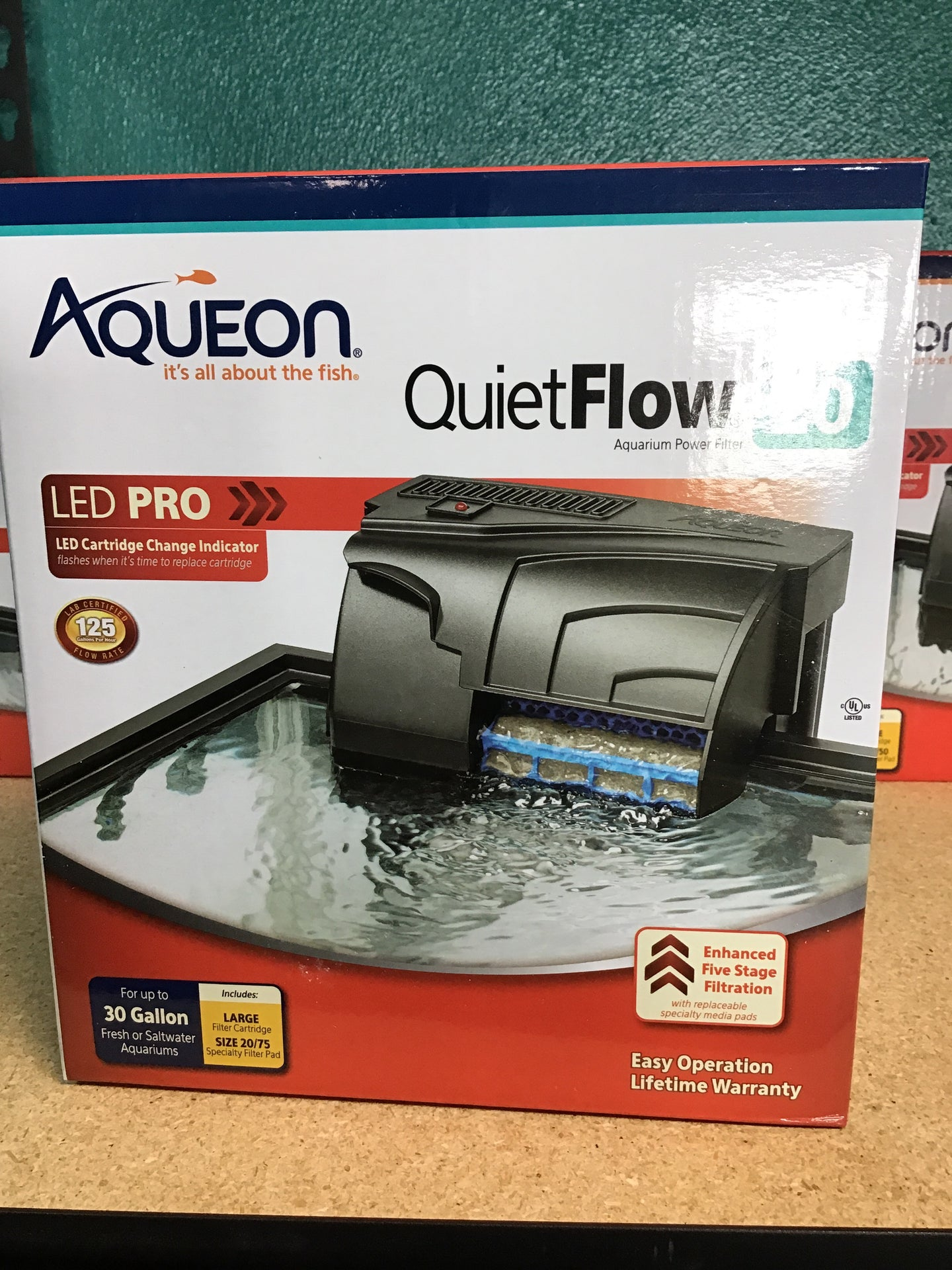 Aqueon 20 quiet flow