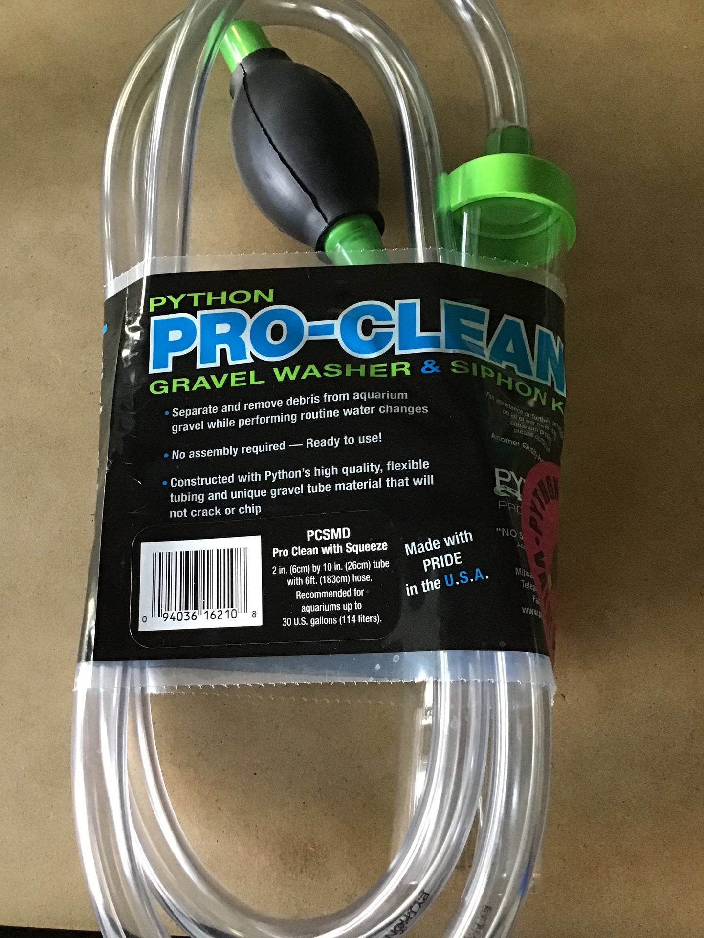 Pro Clean with Squeeze Med
