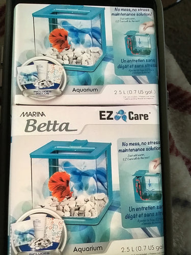 EZ Care Betta Kit Blue