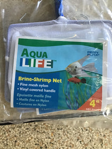 "4"" Brine shrimp net"