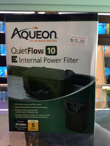 Aqueon quietflow international power filter
