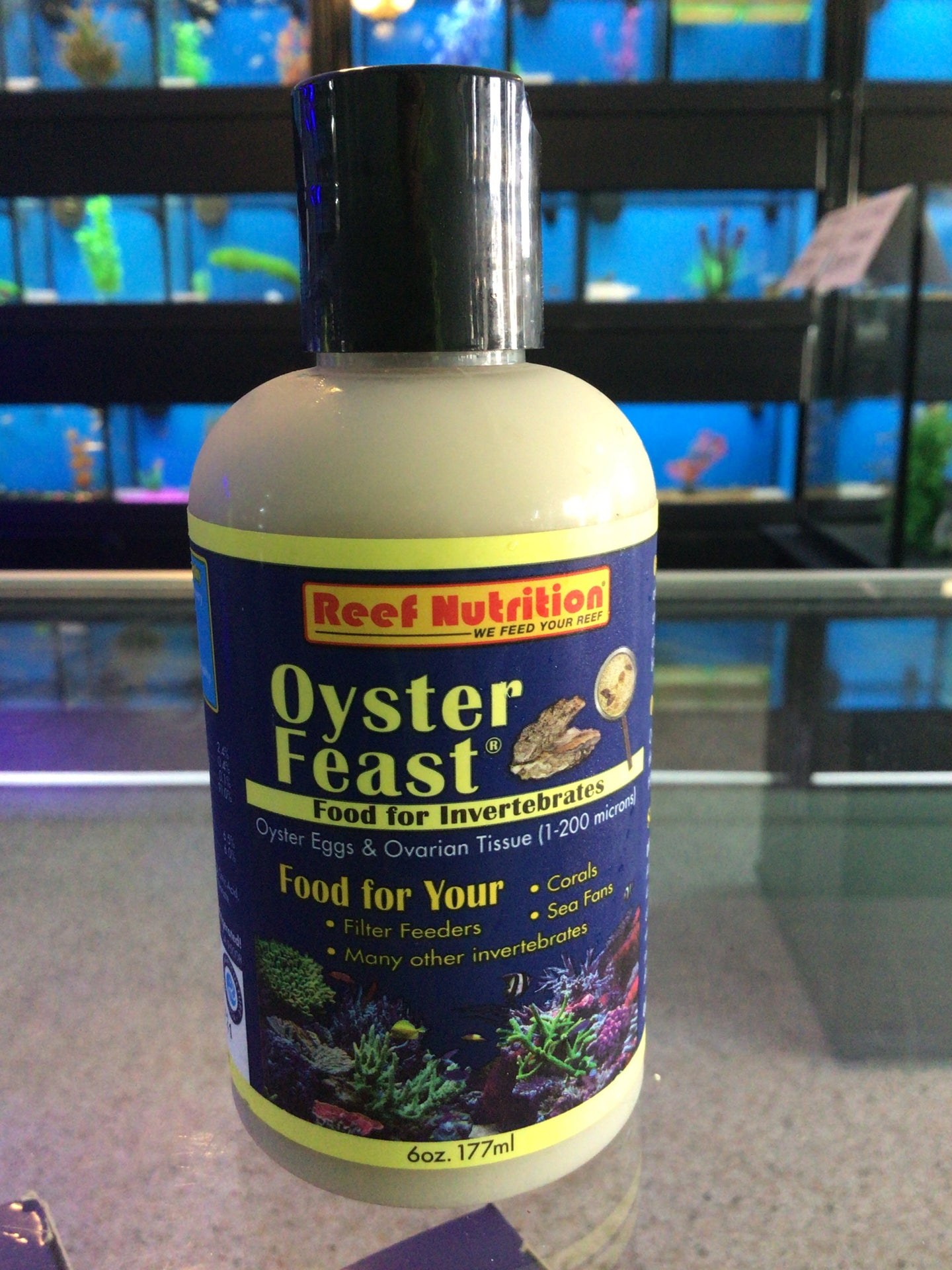 Reef nutrition oyster feast 6 oz