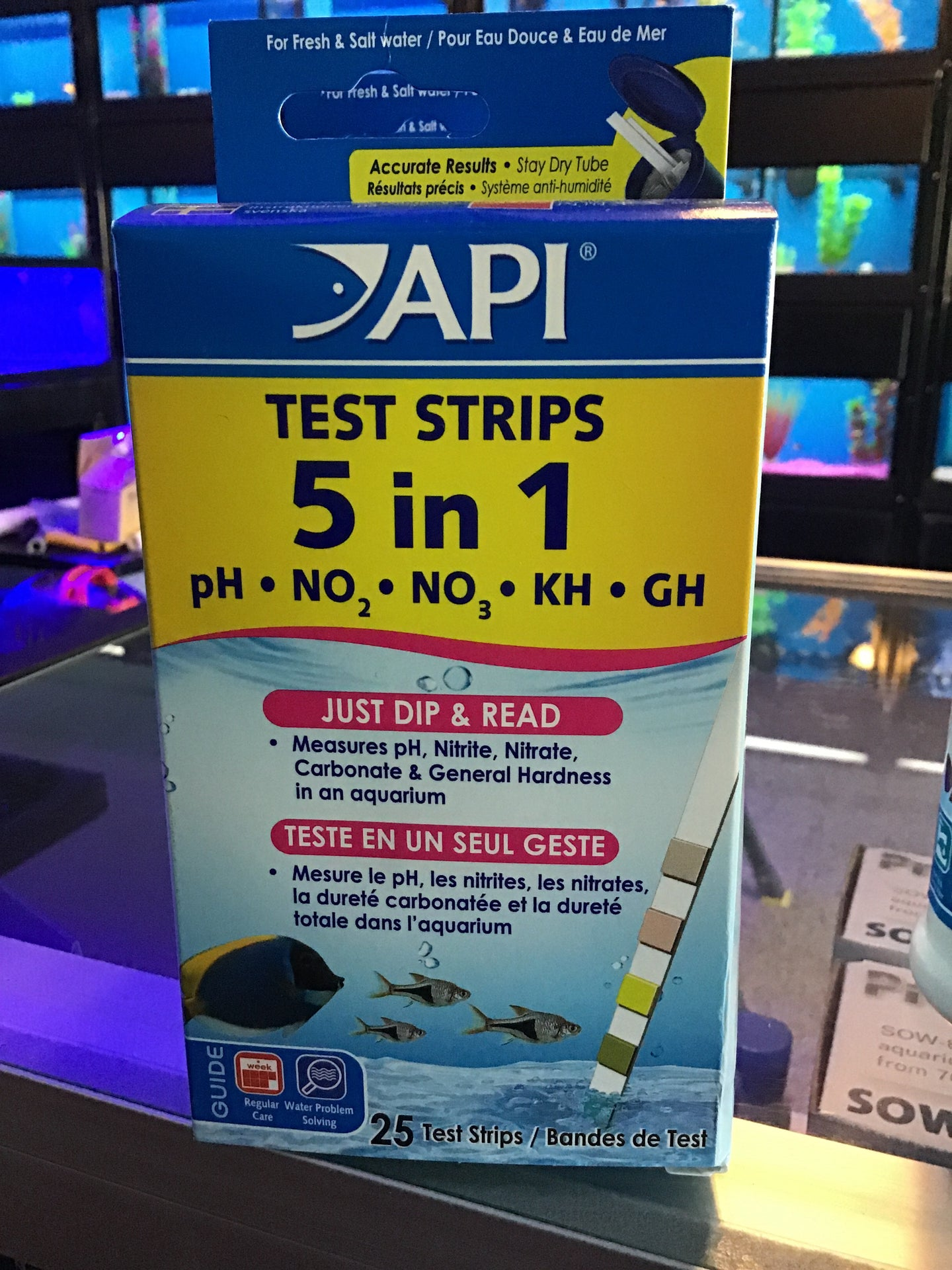 API Test Strips 5 in 1