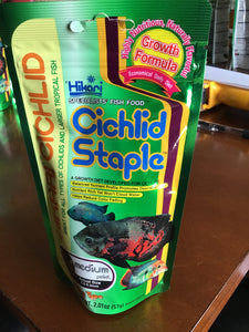 Hikari Cichlid Staple Food: Medium Pellets 2 oz