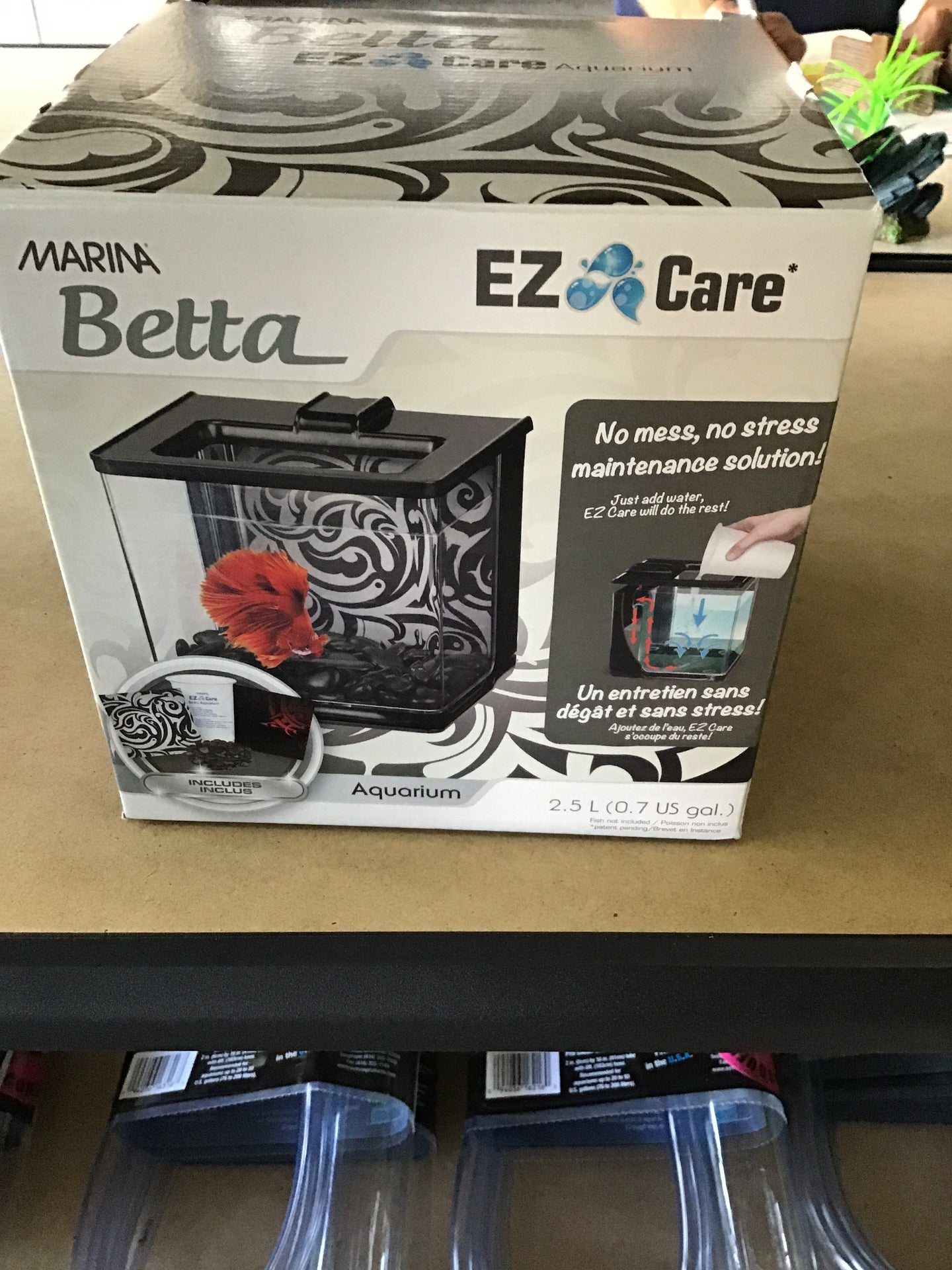Ez Care Betta Black