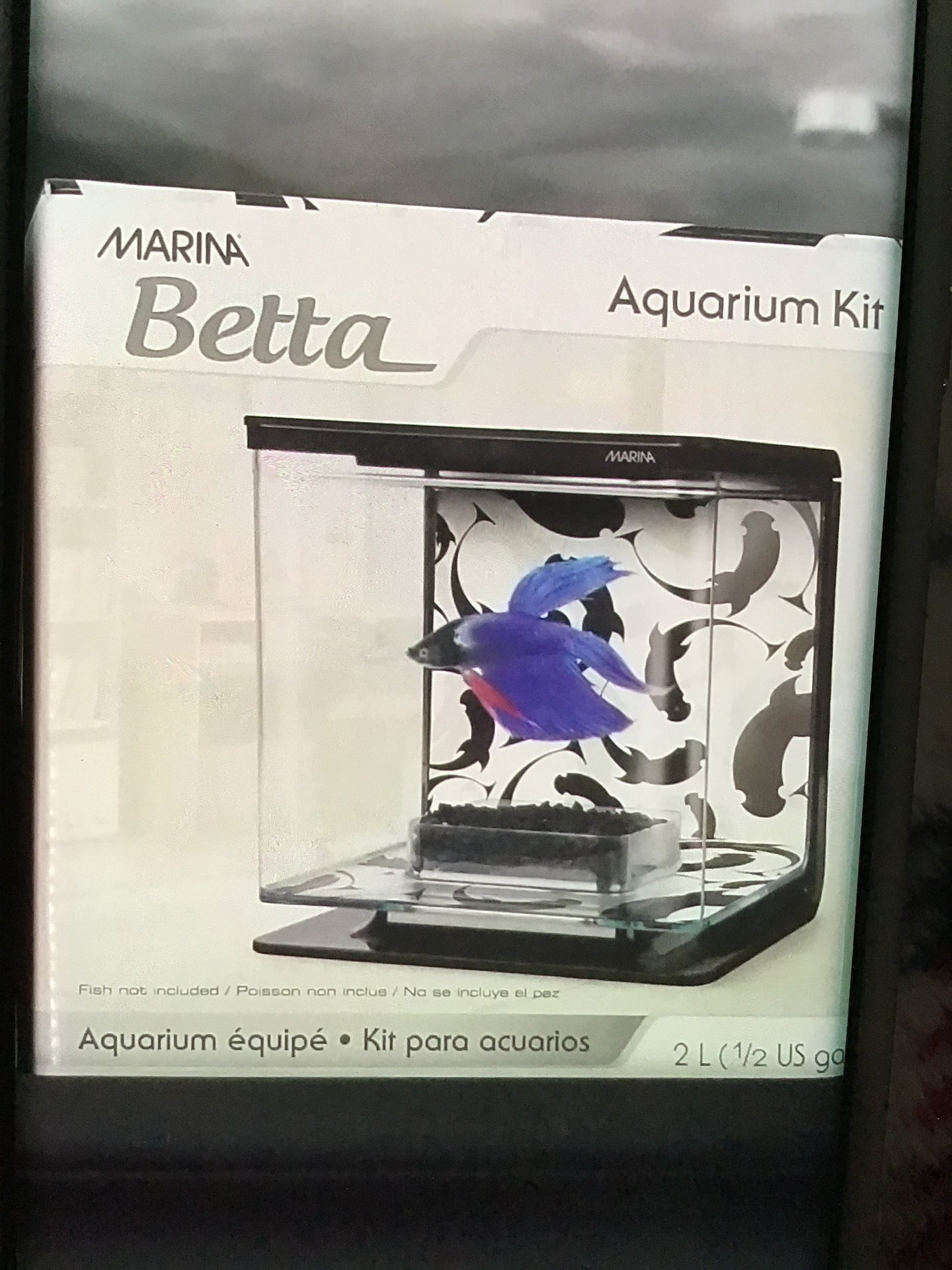 EZ Care Betta Kit Black