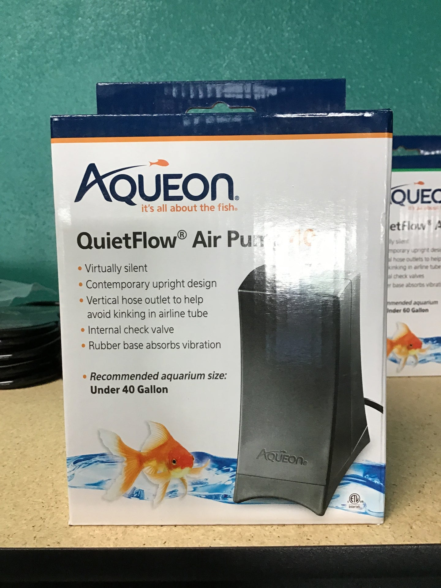 Aqueon quiet flow air pump 40