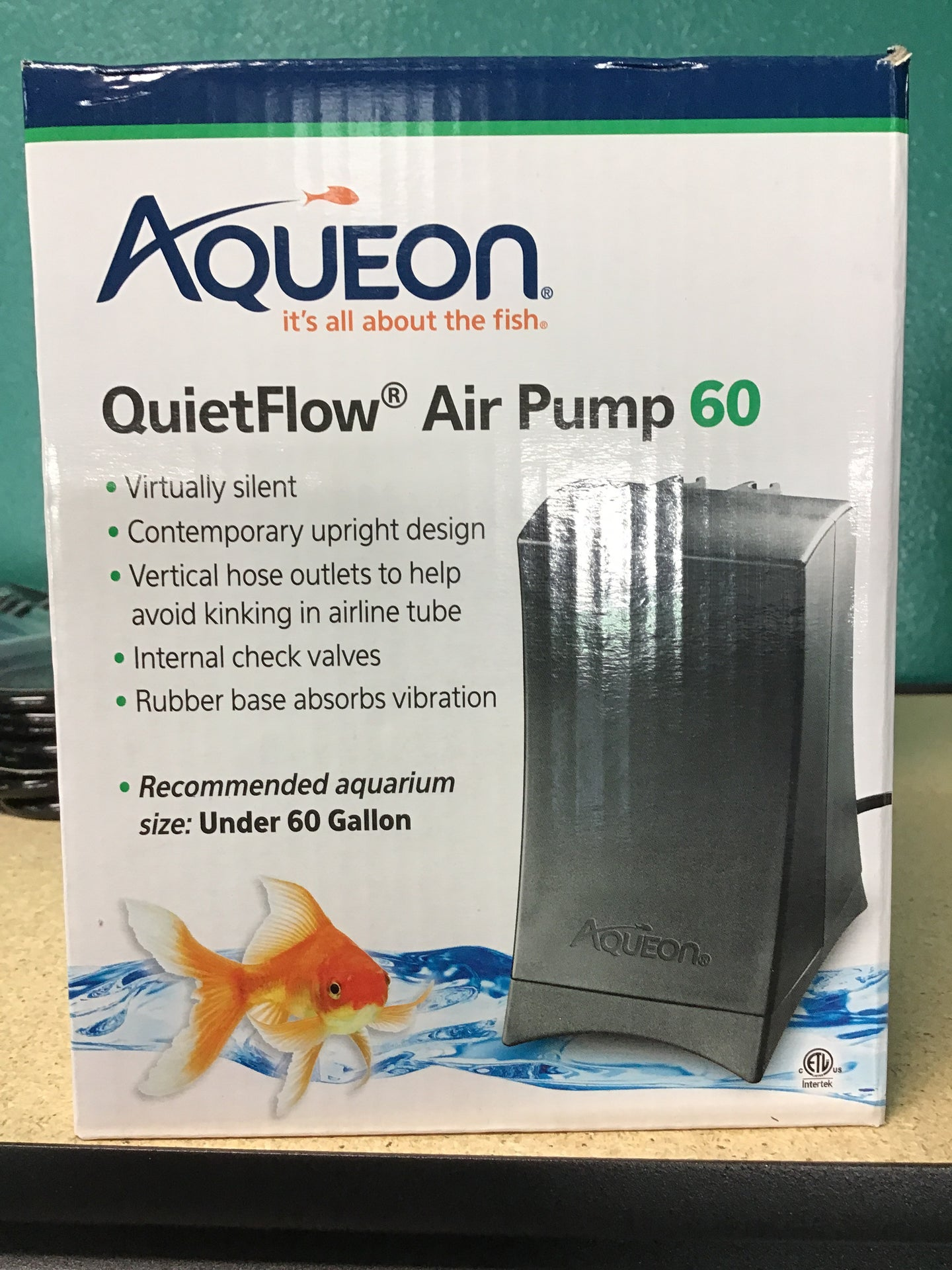 Aqueon quiet flow Air Pump 60