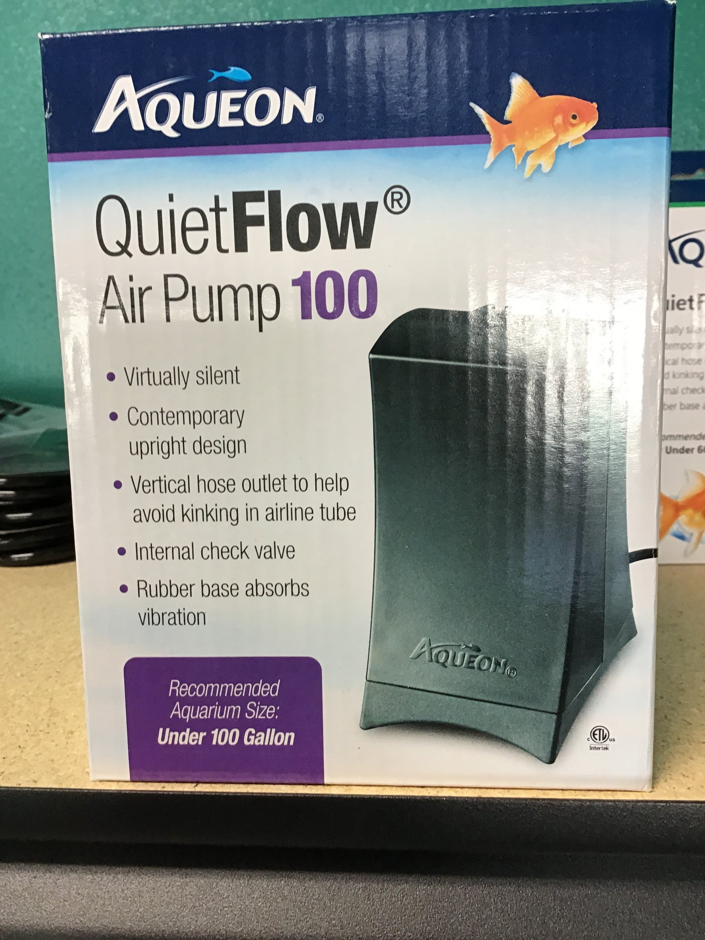 Aqueon Quiet flow air pump 100