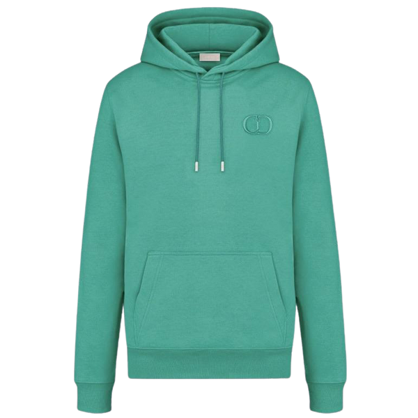 Dior Embroidered CD Icon Hoodie (Green)