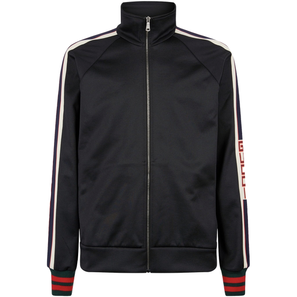 Gucci Technical Tracksuit Jacket (Black)