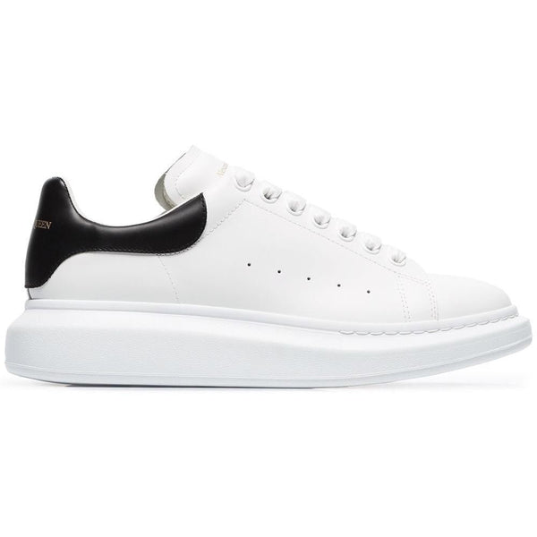 Alexander McQueen Oversized Sole Trainers (White/Black)