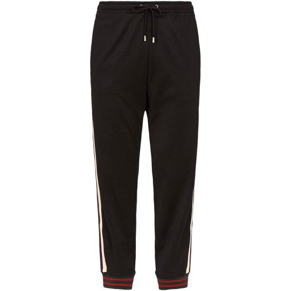 Gucci Technical Tracksuit Pants (Black)