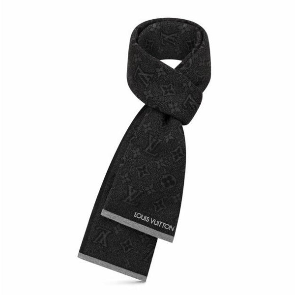Louis Vuitton Monogram Eclipse Scarf