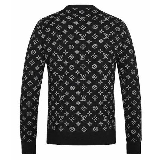 Louis Vuitton Half Monogram Jumper (Black/White)