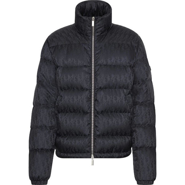 Dior Oblique Puffer Jacket (Black)