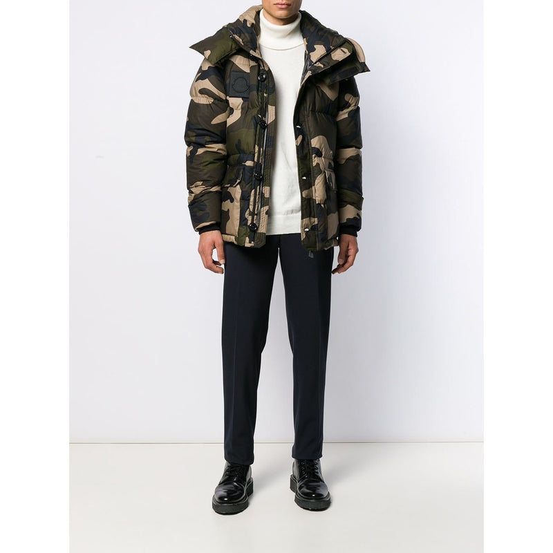 Moncler Dary Down Jacket (Green/Camo)