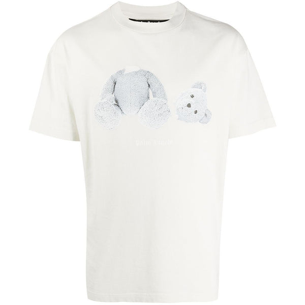 Palm Angels Kill The Bear T-shirt (White/Grey)