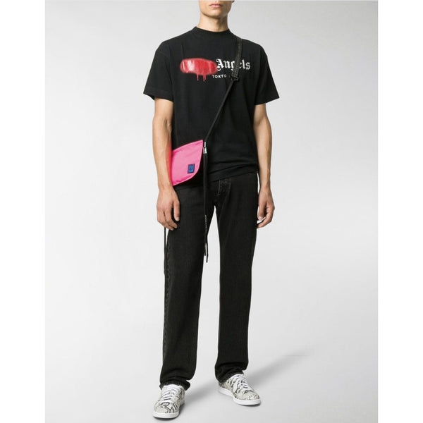 Palm Angels Tokyo Spray Paint T-shirt (Black/Red)